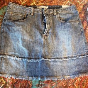 Melrose and Market denim skirt size 12